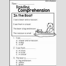 Reading Comprehension Set 1  Help Teaching And Reading Comprehension