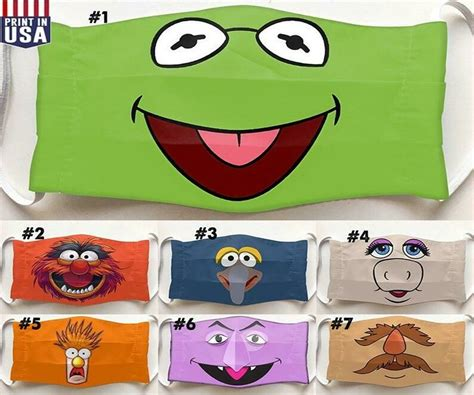 kermit  frog  muppet show lovers muppets mask