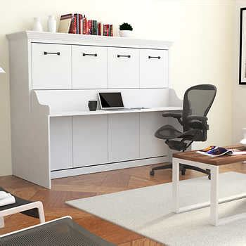 wall bed with desk melbourne wall bed w desk combo white