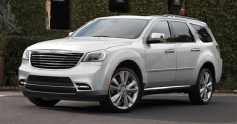 2018 Chrysler Aspen Return In The Suv Segment 20182019