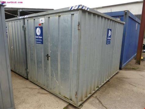 materialcontainer gebraucht kaufen hansa baustahl materialcontainer gebraucht kaufen auction