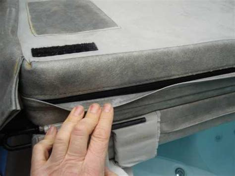 Replacement Tub Cover Foam Inserts by Repairing The Maxxus Tri Fold Cover