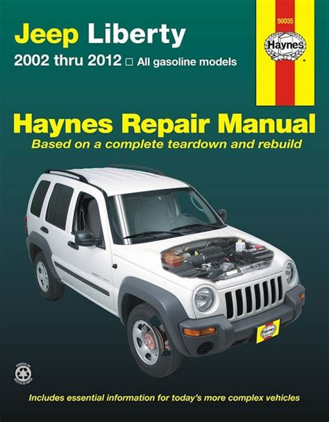 buy car manuals 2011 jeep liberty electronic toll collection jeep liberty service and repair manual 2002 2012 haynes 50035