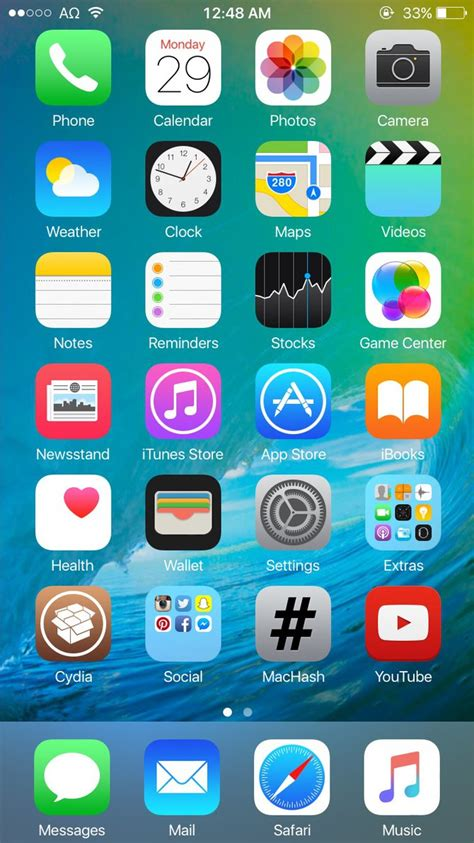 iphone 6 theme ios 9 theme for ios 8 jailbreak by theromanemperor on