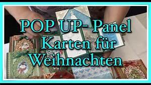 Pop Up Weihnachtskarten : pop up panel karte weihnachtskarten youtube ~ Frokenaadalensverden.com Haus und Dekorationen