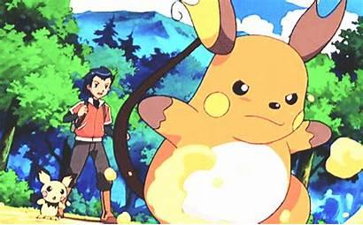 Pokemon Pikachu Raichu Pichu Gifs Comparison Anime