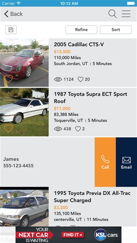 ksl iphone ksl classifieds on the app