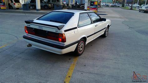 1985 Audi Cuope Gt 5 Speed