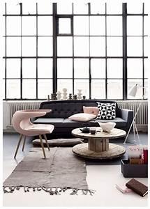 Salon Gris Et Rose : d co salon gris id es couleur et photo pour s 39 inspirer d co cool ~ Preciouscoupons.com Idées de Décoration