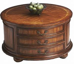 coffee table with drawers design images photos pictures With round wooden coffee table with drawers