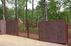 Nos clôtures gabion Ateliers Goudier