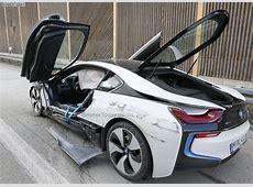 BMW i8 Unfall HybridSportler in AutobahnCrash verwickelt