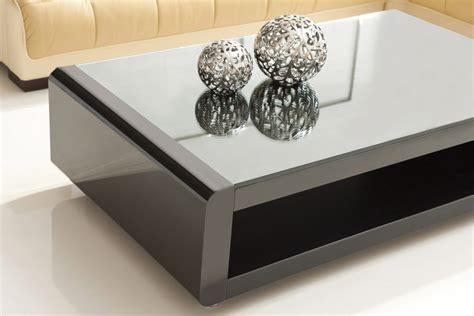 tisch wohnzimmer designer couchtisch wohnzimmertisch wohnzimmer tisch larentia schwarz lr0b neu ebay
