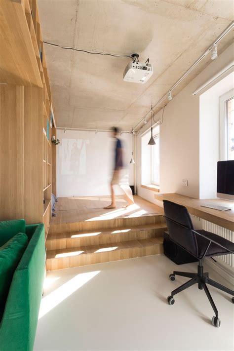 Aménager Un Studio  Intérieur Exemplaire Par Rue Temple