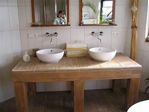 Großes Waschbecken Mit Unterschrank : bad 39 unser gro es badezimmer 39 unser kleines holzh uschen zimmerschau ~ Bigdaddyawards.com Haus und Dekorationen