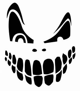 Scary, Pumpkin, Stencils, Free, Printable