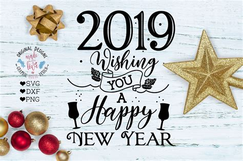 2019 Wishing You A Happy New Year By Graphichousedesign