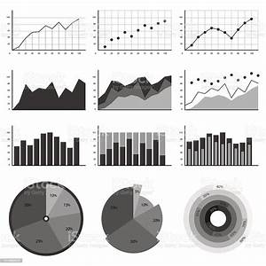 Set Of Elements For Infographics Charts Graphs Diagrams In