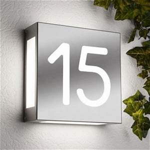 Plaque De Rue Personnalisée Extérieur : num ro de maison lumineux exp en 48h cr ativ 39 sign ~ Dode.kayakingforconservation.com Idées de Décoration