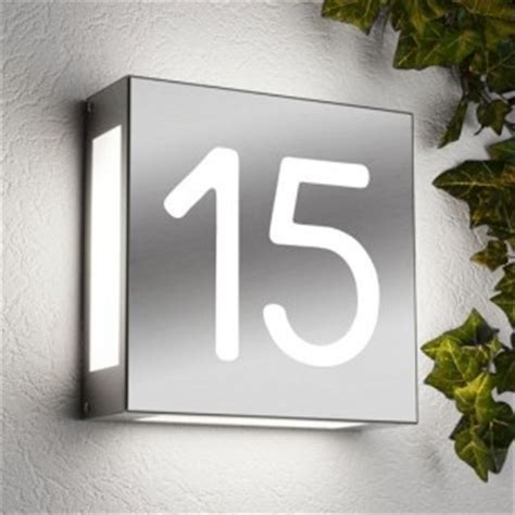 Numéro de maison lumineux   Créativ'Sign