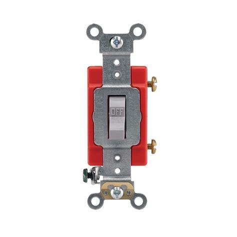 Leviton Amp Single Pole Industrial Toggle Switch