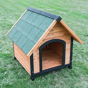 Medium size wooden dog kennel paw mate for Ready dog kennel