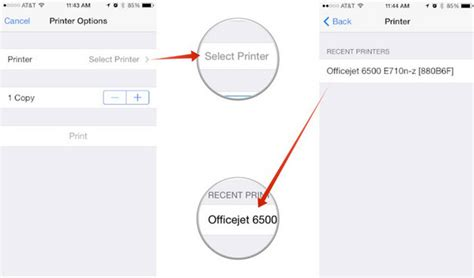 can i print from my iphone how can i add my printer to the airprint on my