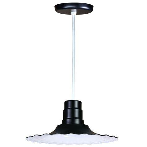 home depot outdoor hanging lights illumine 1 light outdoor hanging black deep bowl pendant