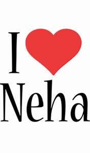 Neha Logo | Name Logo Generator - Kiddo, I Love, Colors Style