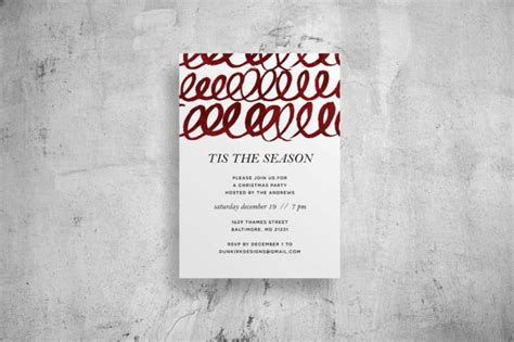 50 of The Best Designed Party Invitations :: Design
