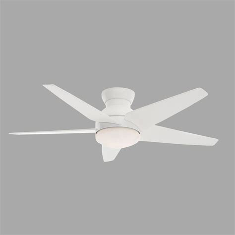 omega casablanca white ceiling fan with light remote casablanca isotope 52 in indoor snow white ceiling fan