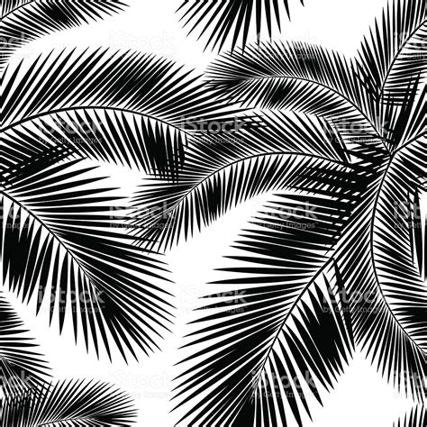 farbe palm bl 228 tter nahtlose muster stil schwarz und wei 223