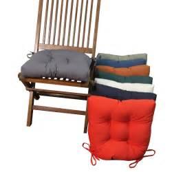 blazing needles  shape twill dining chair cushions