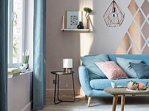 Pochoir Peinture Murale : m tal chic pour r aliser cette composition graphique ~ Premium-room.com Idées de Décoration