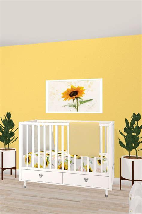 nursery designwithfriends sunflower