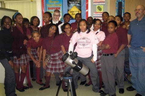 buckmaster family donates lab equipment  thea bowman