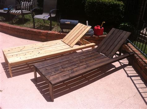 ana white diy chaise lounge chairs diy projects