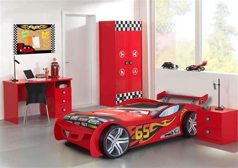 decoration chambre garcon cars bureau enfant 3 tiroirs coloris bolid bureau