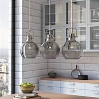 island pendant lights Brayden Studio Burner 3-Light Kitchen Island Pendant & Reviews | Wayfair
