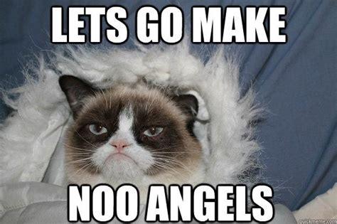 Grumpy Cat Snow Meme - snow memes