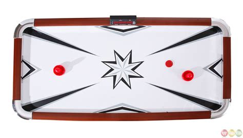 air hockey table accessories carmelli ng1037 midtown 72 quot deluxe air hockey table w