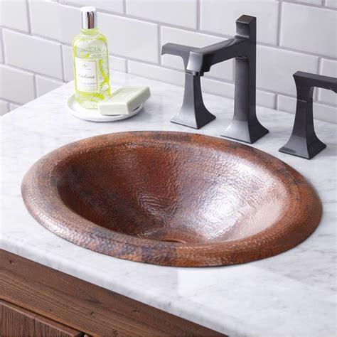 copper sink bathroom sinks bathroom sinks drop in ruehlen supply company 12515