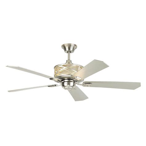 chronicle 54 ceiling fan monte carlo piper 54 in indoor brushed steel ceiling fan