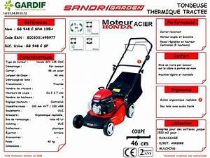 Tondeuse Honda Gcv 135 : gardif ~ Dailycaller-alerts.com Idées de Décoration