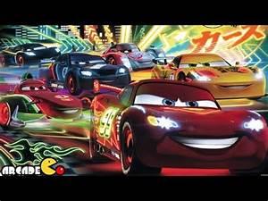 Disney Pixar Cars Fast as Lightning McQueen Neon