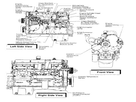 3406e Caterpillar Engine Wiring For by Sensors And Electrical Connectors 3406e C 10 And C 12 On