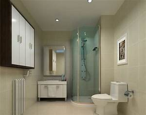 Contracted washroom design rendering