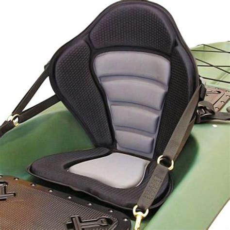 Canoes With Seat Backs by Adjustable Padded Kayak Seat Detachable Back Bag Canoe