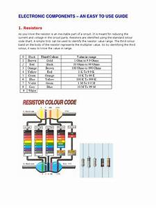 Electronic Components  U2013 An Easy To Use Guide
