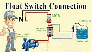 Float Switch Wiring Diagram For Water Pump